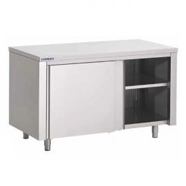 Tables armoires avec portes coulissantes